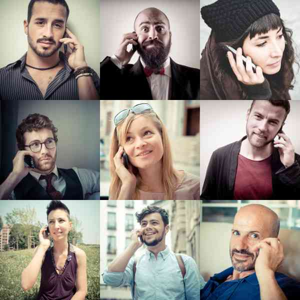 collage, phone, people, talking, business, diversity, mobile, cell, man,smartphone, person, phones, young, montage, conversation, office, telephone, cellphone, group, adult, woman, female, businessman, communication, white, concept, male, calling, technology,